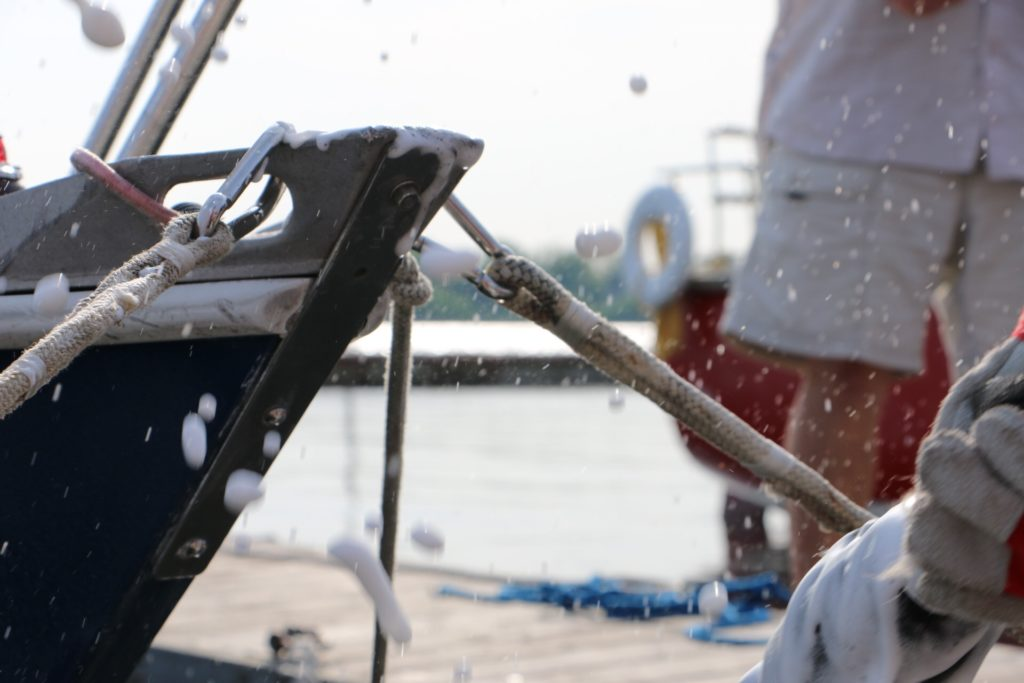 Christening the Bow